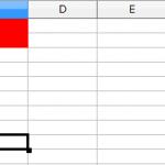 【LibreOfficeマクロ】セルのフォント色と背景色変更