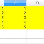 【LibreOfficeマクロ】セルの値クリアと全クリア
