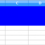 【LibreOfficeマクロ】セル選択と操作