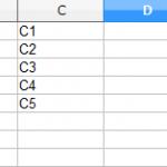 【LibreOfficeマクロ】列挿入と列削除